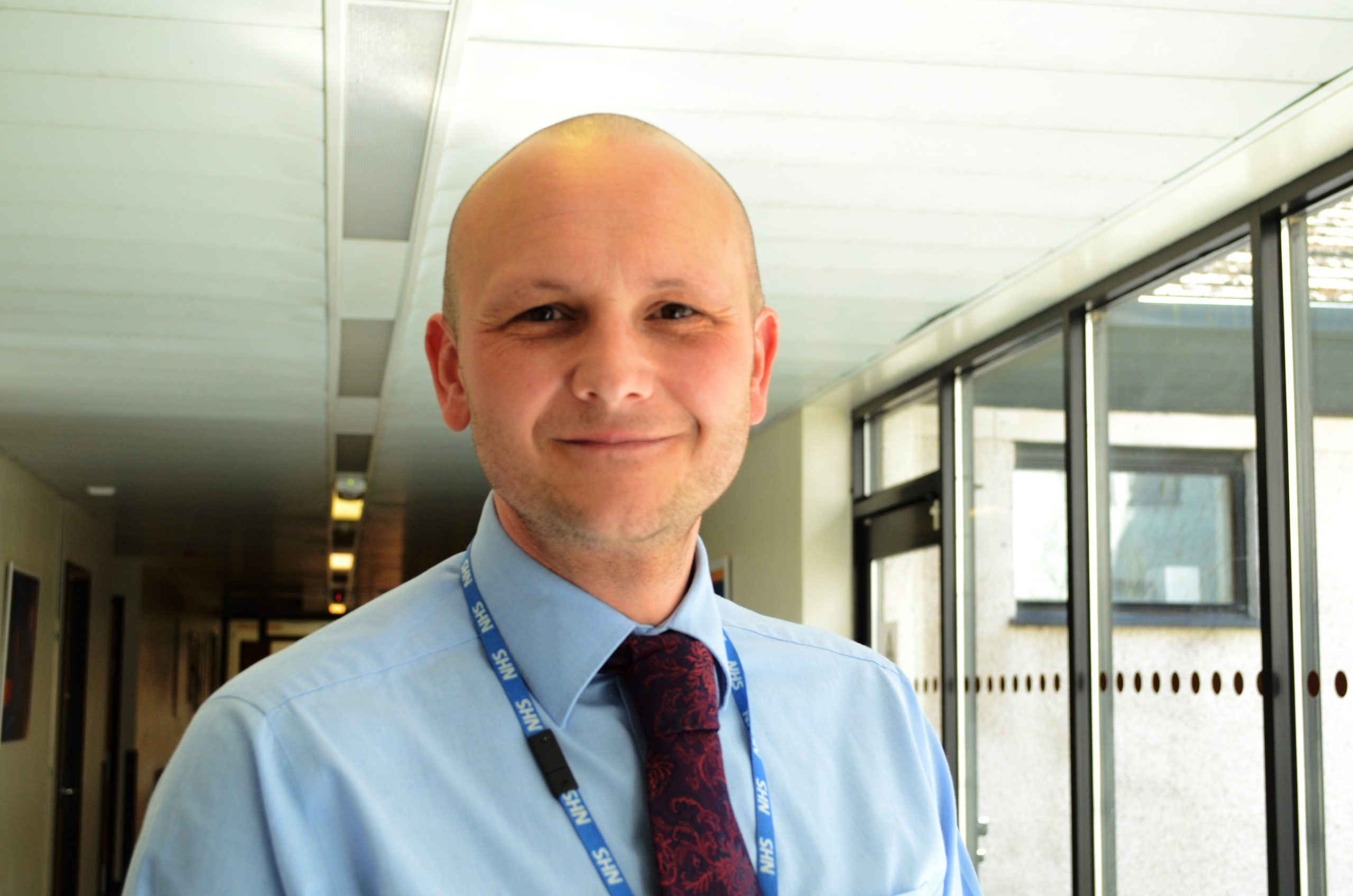 Headshot of Phil Woodford, Director of Corporate Affairs at University Hospitals Morecambe Bay NHS Foundation Trust (UHMBT).