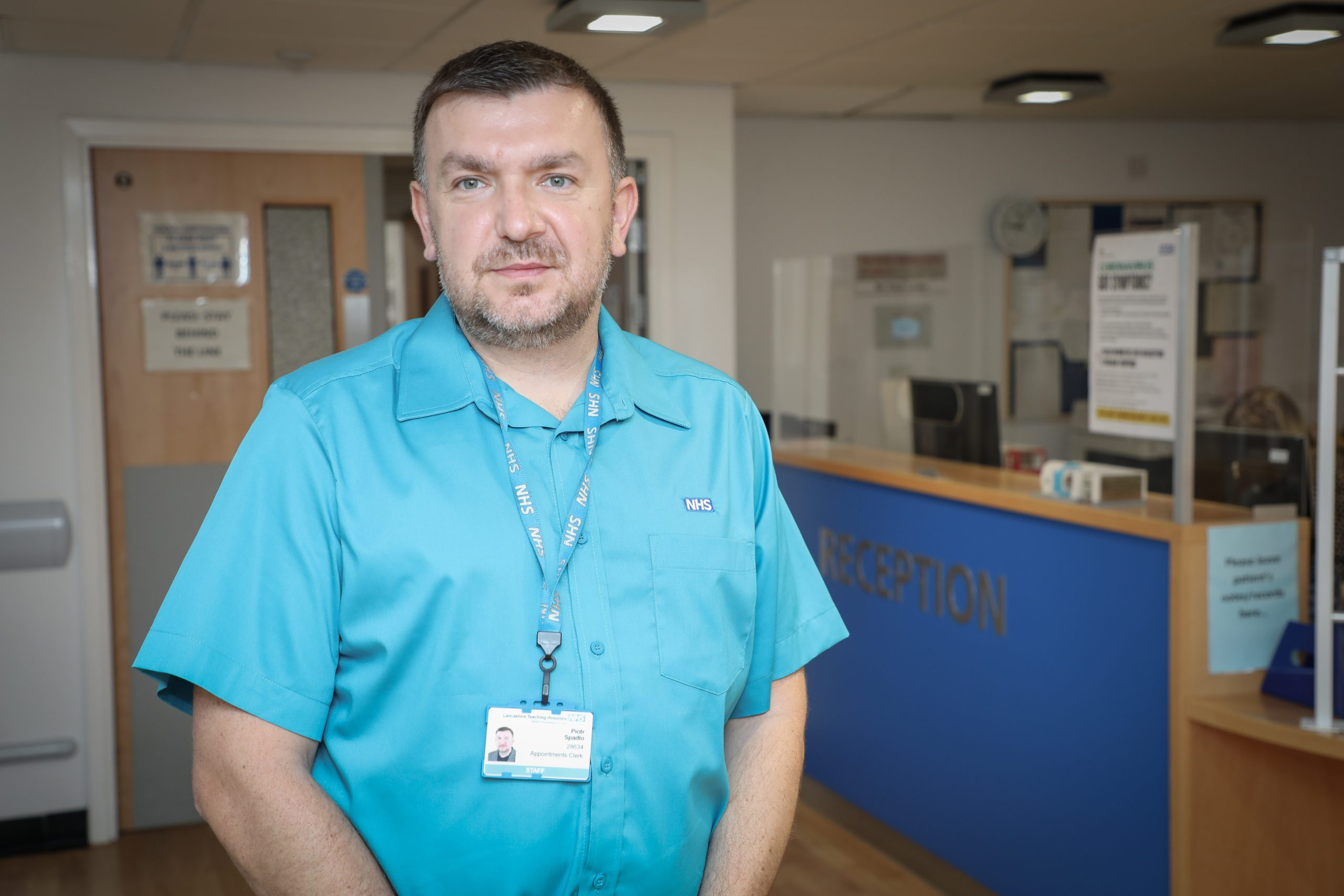 Picture of Piotr Spadlo, a Staff Governor at Lancashire Teaching Hospitals NHS Foundation Trust
