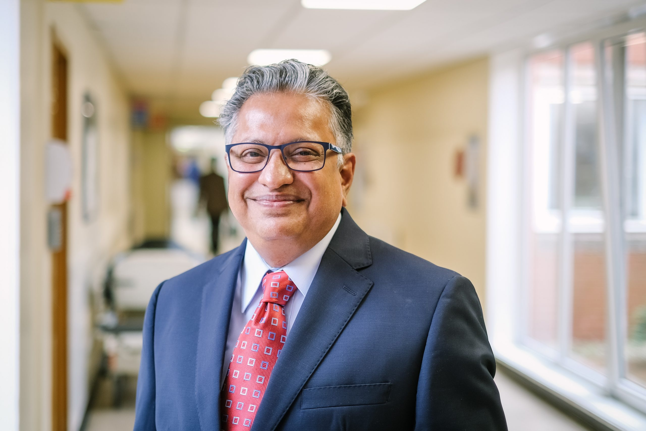 a picture of the Clinical Lead, Asish Chatterjee