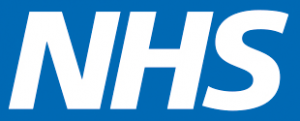 Graphic of the NHS logo