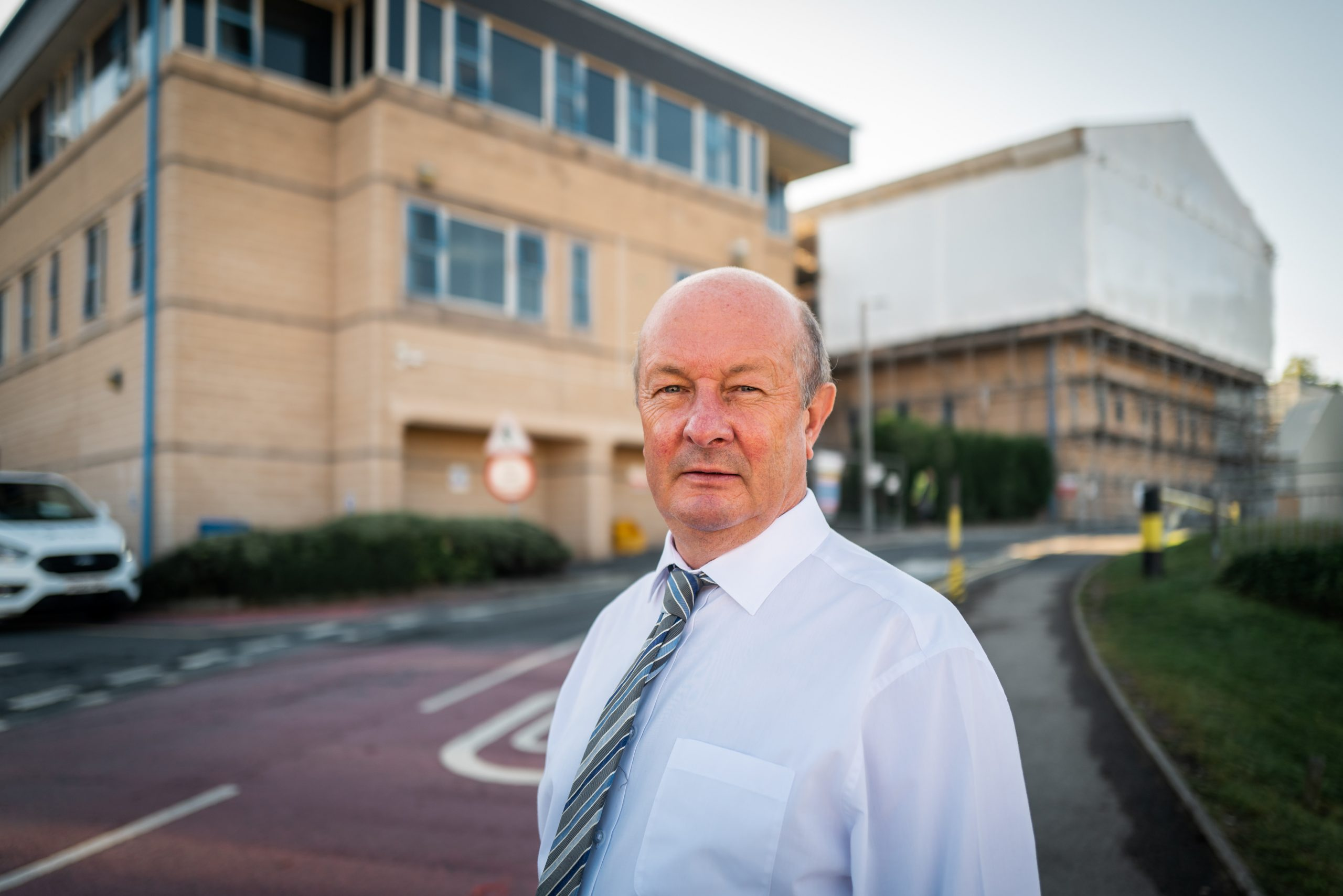 Picture of the Divisional Manager for Facilities at University Hospitals of Morecambe Bay NHS Foundation Trust.